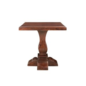 Maliyah Pedestal End Table by Longshore Tides