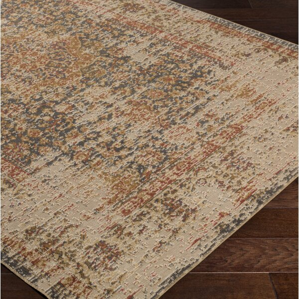 Cerys Oriental Traditional Brown Area Rug by Bloomsbury Market