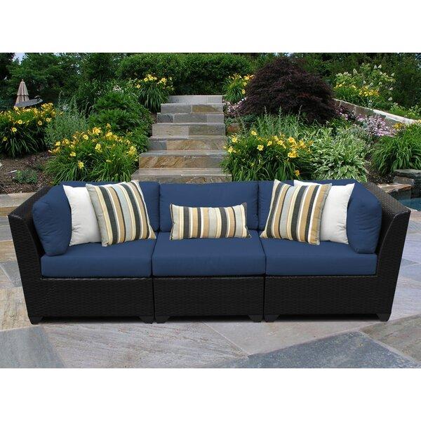 Tegan Patio Sofa with Cushions by Sol 72 Outdoor Sol 72 Outdoor