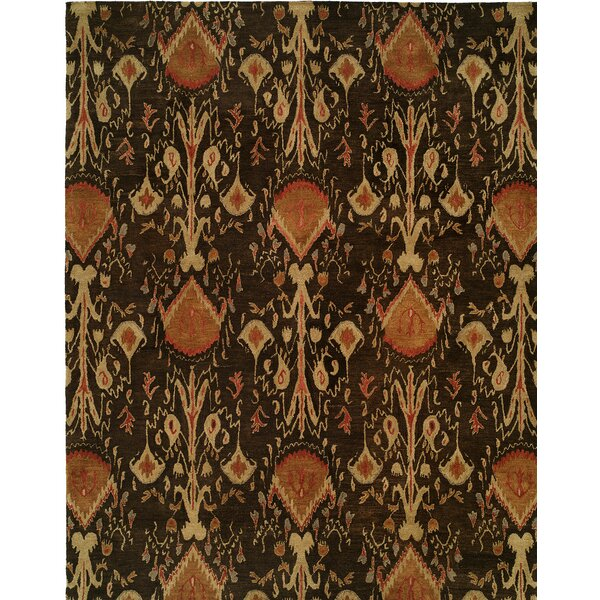 Hand-Tufted Brown Area Rug by Wildon Home ®