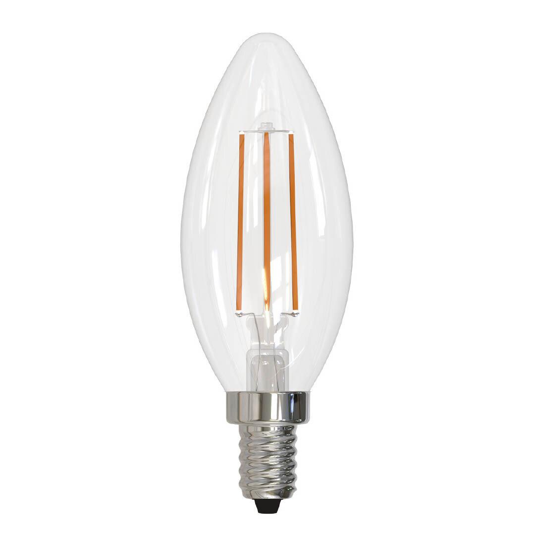 Bulbrite Industries 5 Watt 60 Watt Equivalent B11 Led Dimmable Light Bulb E12 Candelabra Base Wayfair