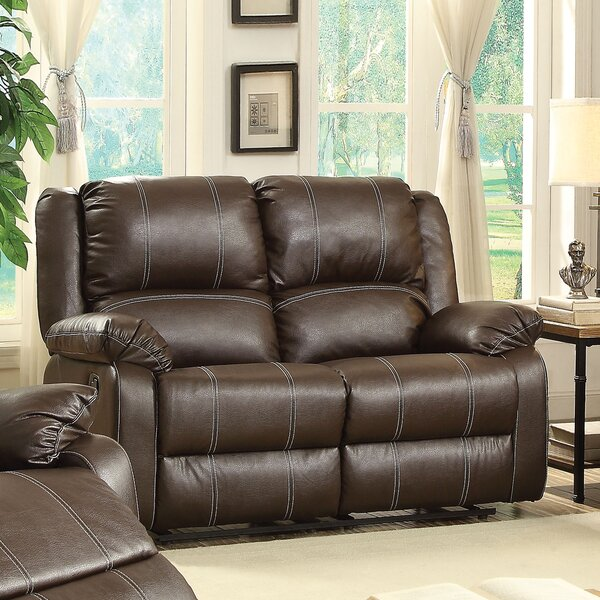 Best #1 Maddock Reclining Loveseat By Latitude Run Great price