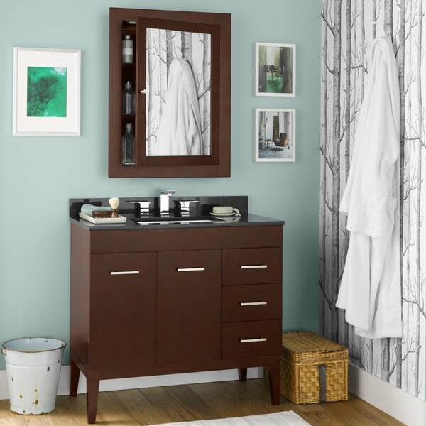 Venus 36 Single Bathroom Vanity Set with Mirror by Ronbow
