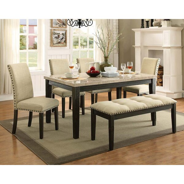 Charissa 6 Piece Dining Set by Gracie Oaks
