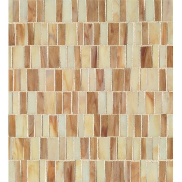 Kailua Glass Mosaic Tile in Sand by Grayson Martin
