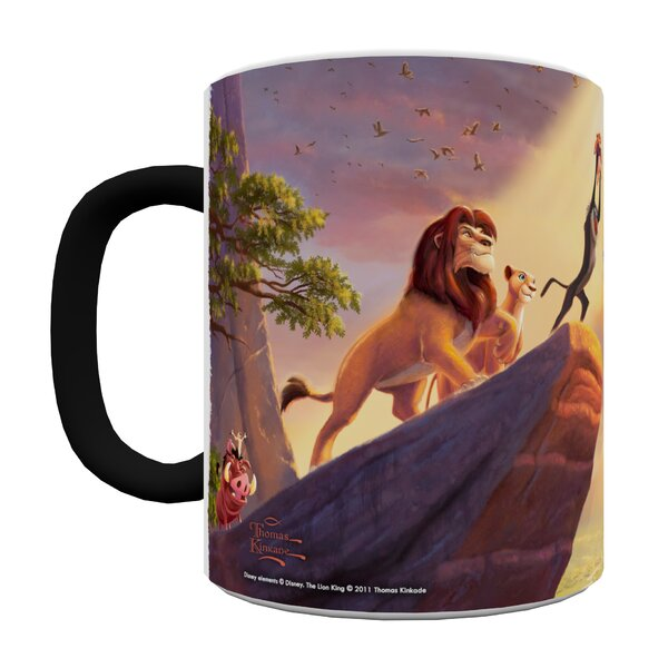 The Lion King Heat-Sensitive Coffee Mug by Morphing Mugs