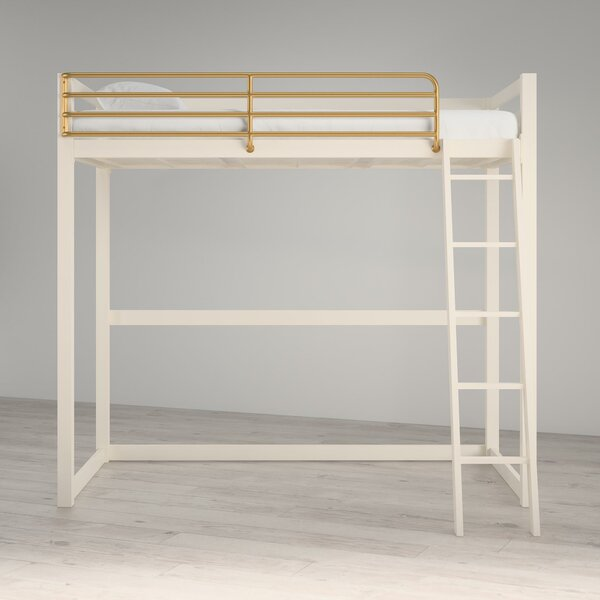 Ludie Metal Twin Loft Bed By Greyleigh by Greyleigh Best Choices