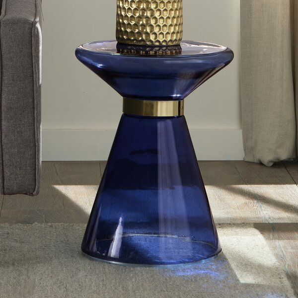 Carwell Glass Side Table by Mercer41