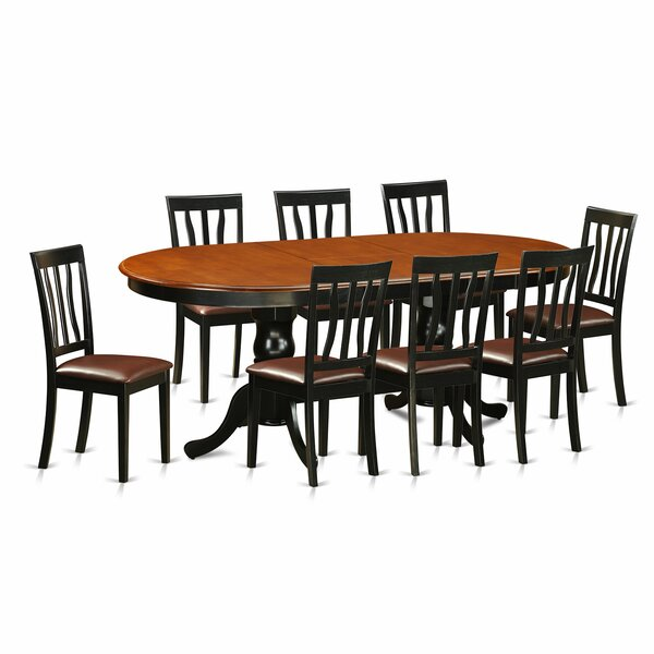 Germantown 9 Piece Extendable Solid Wood Dining Set by Darby Home Co