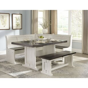 Villepinte 5 Piece Extendable Breakfast Nook Dining Set By August Grove