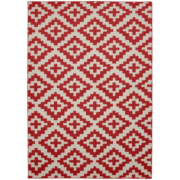 Southwest Chili/Ivory Area Rug by Garland Rug