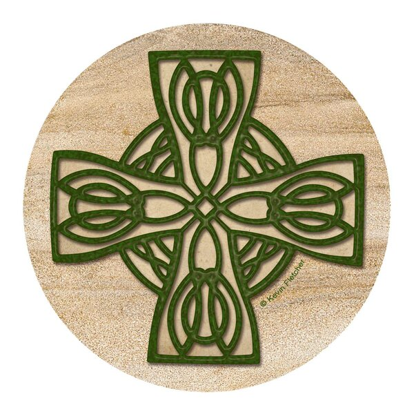Celtic Cross Coaster (Set of 4) by Thirstystone