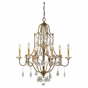 Valentina 6-Light Candle-Style Chandelier