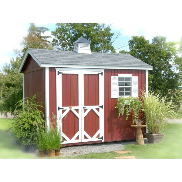 Classic Wooden Storage Shed by Little Cottage Company