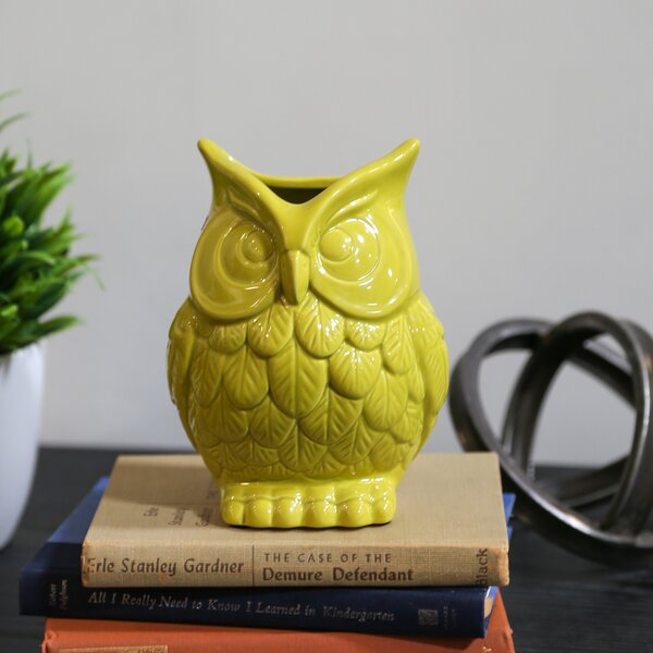 Ceramic Owl by Urban Trends