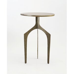 Danton Iron End Table by Bloomsbury Market