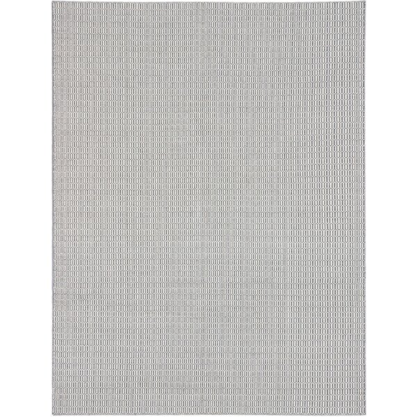Rosemarie Hand-Woven Cream/Dark Gray Area Rug by Gracie Oaks