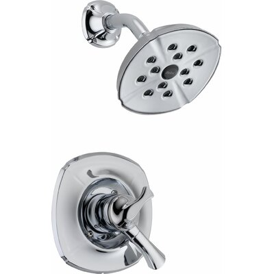 Shower Faucet Handle Chrome photo