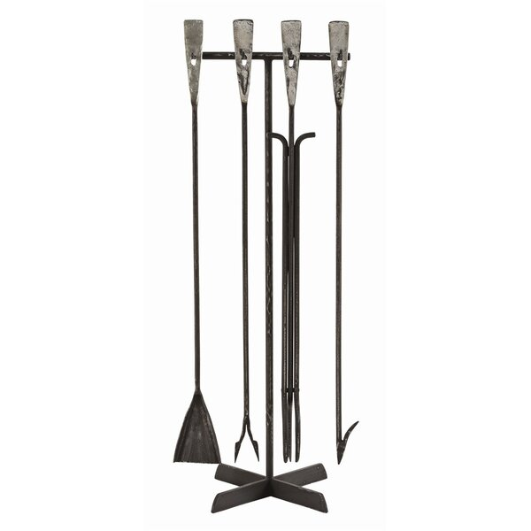 Henry Iron Fireplace Tool Set By ARTERIORS Today Sale Only