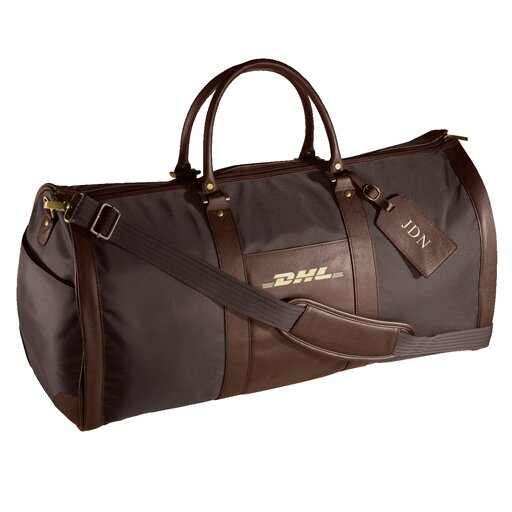 24 Leather Metro Convertible Travel Duffel by Andrew Philips
