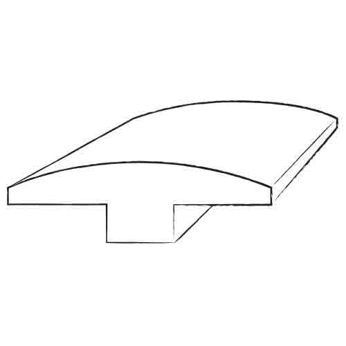0.63 x 2 x 78 Maple T-Mold by Moldings Online