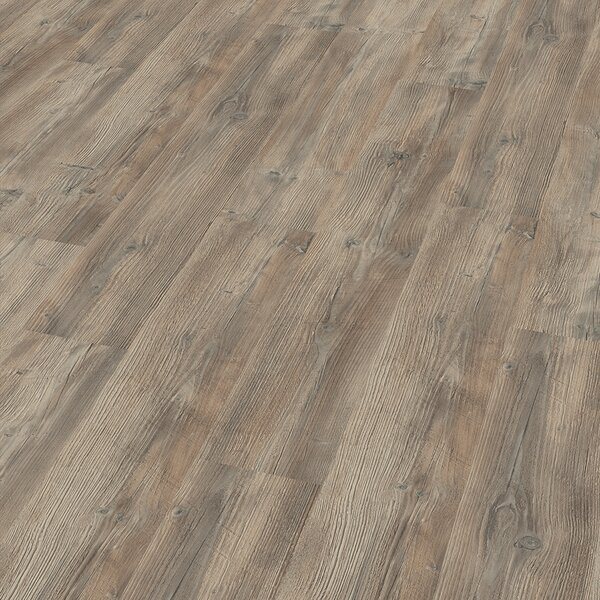 7 x 47 x 8mm Pine Laminate Flooring in Gray by ELESGO Floor USA