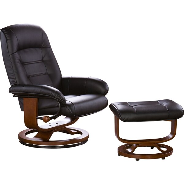 New Republic Manual Swivel Swivel Glider Recliner