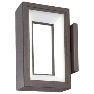Affordable Price Elsass 1-Light Outdoor Sconce By Brayden Studio
