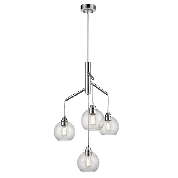Pevensey 4 - Light Unique Tiered Chandelier By Ivy Bronx