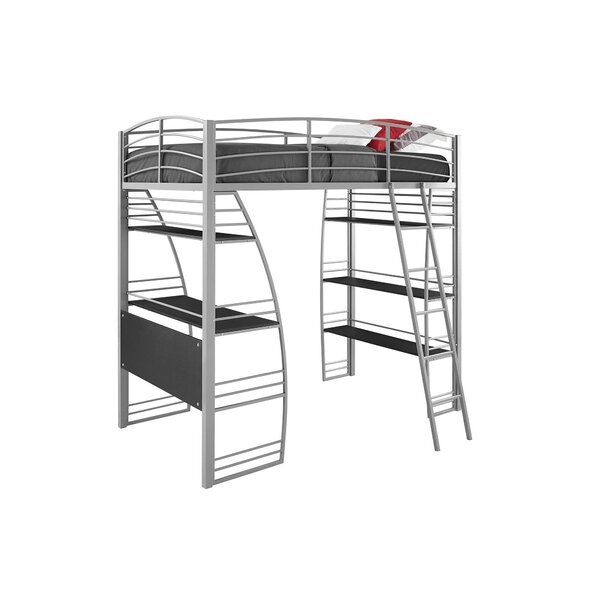 Kronos Twin Loft Bed by Viv + Rae