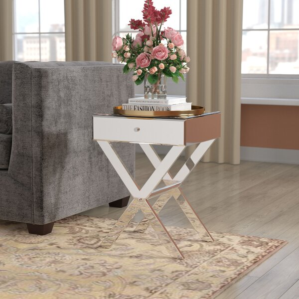 Rosinski Vincennes End Table With Storage By Willa Arlo Interiors