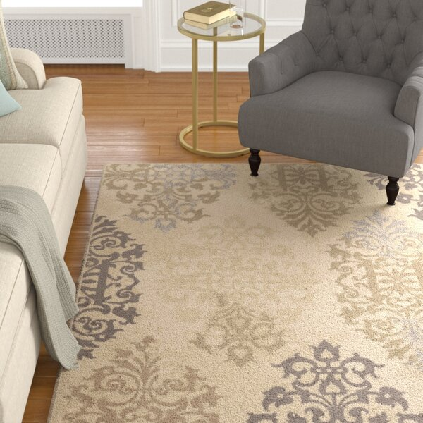 Du Bois Ivory Area Rug by Darby Home Co