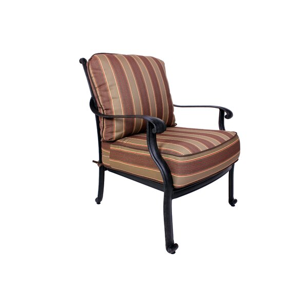 Islais Patio Chair with Sunbrella Cushions by Darby Home Co Darby Home Co