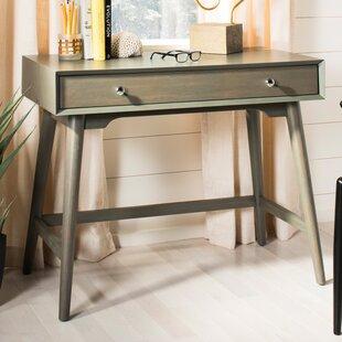 Faning 1 Drawer Writing Desk by Mercury Row No Copoun