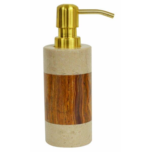 Polished Marble Keller Lotion Dispenser by Bloomsbury Market