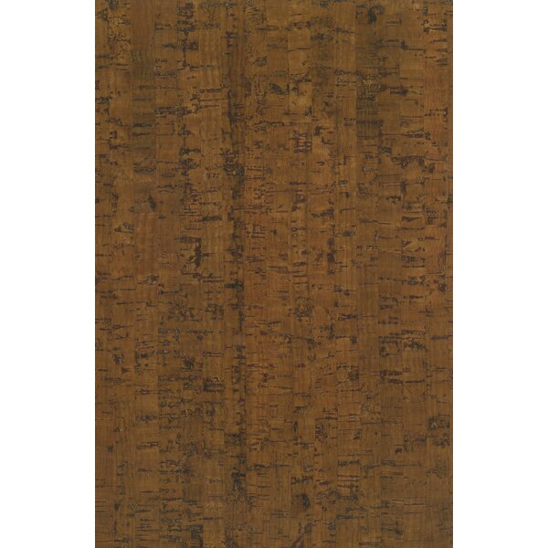 7-16/25 Planks - Micro Bevel Cork Flooring in Line Mocha by Albero Valley