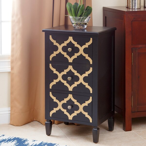 Cathy End Table with Storage by House of Hampton
