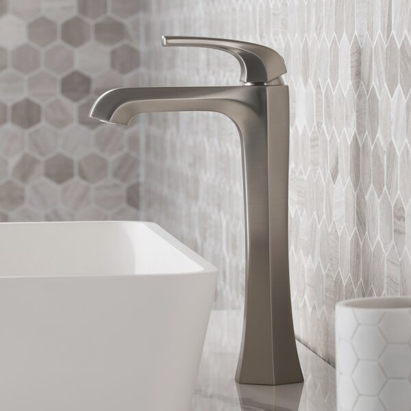 Esta Vessel Sink Bathroom Faucet with Drain Assembly by Kraus Kraus