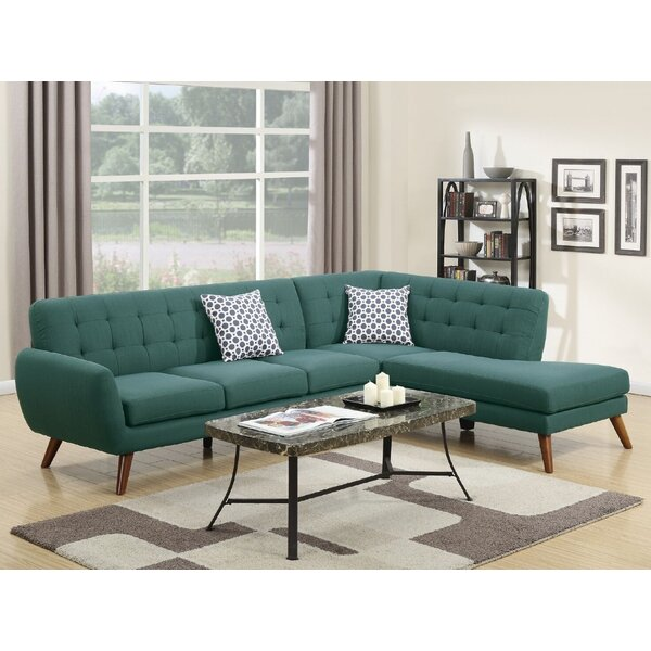 Vincent Right Hand Facing Sectional By A&J Homes Studio