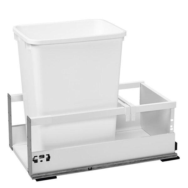 Servo 8.75 Gallon Pullout Trash Can by Rev-A-Shelf