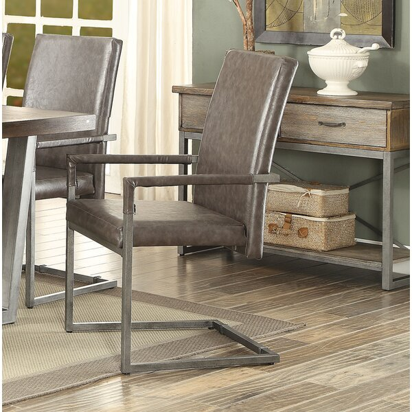 Wadebridge Upholstered Dining Chair (Set of 2) by Williston Forge