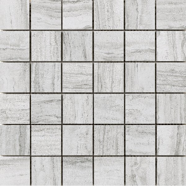 Terrane 2 x 2 Porcelain Mosaic Tile in Ivory by Emser Tile