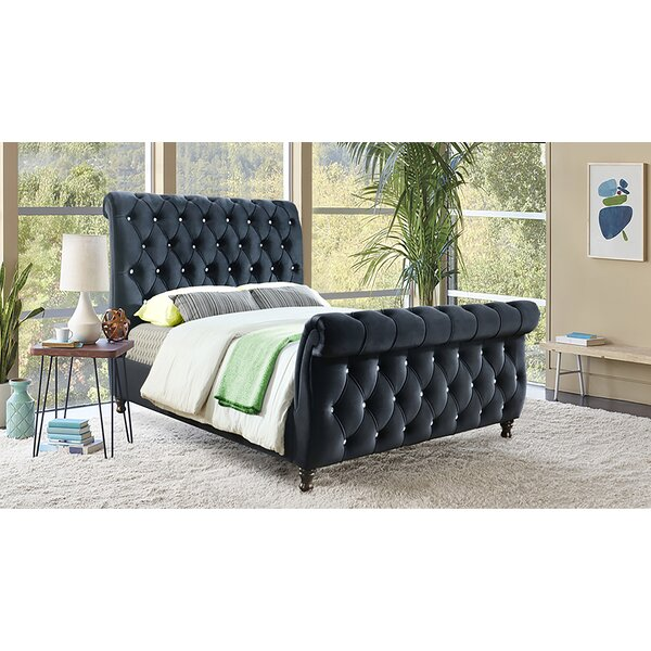 Delgadillo Upholstered Sleigh Bed by Darby Home Co