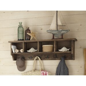 Fallon Wall Mounted Coat Rack With Storage
