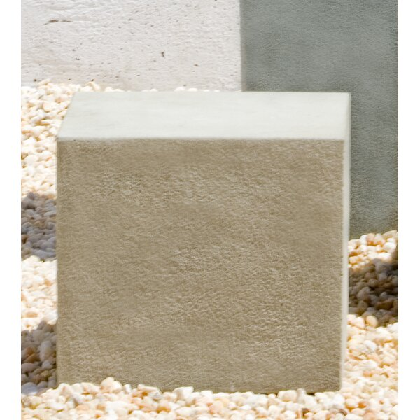 Square Textured Pedestal by Campania International
