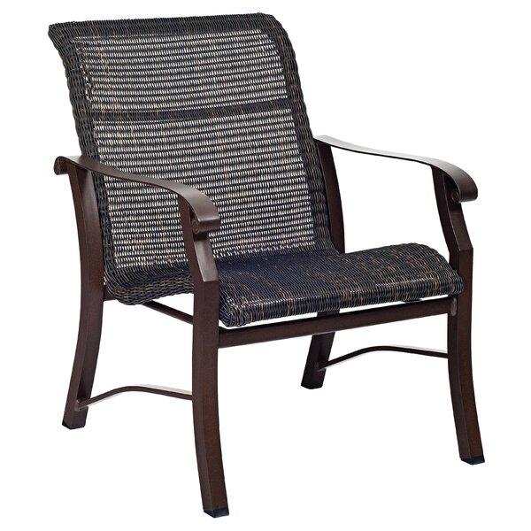 Cortland Woven Patio Chair by Woodard