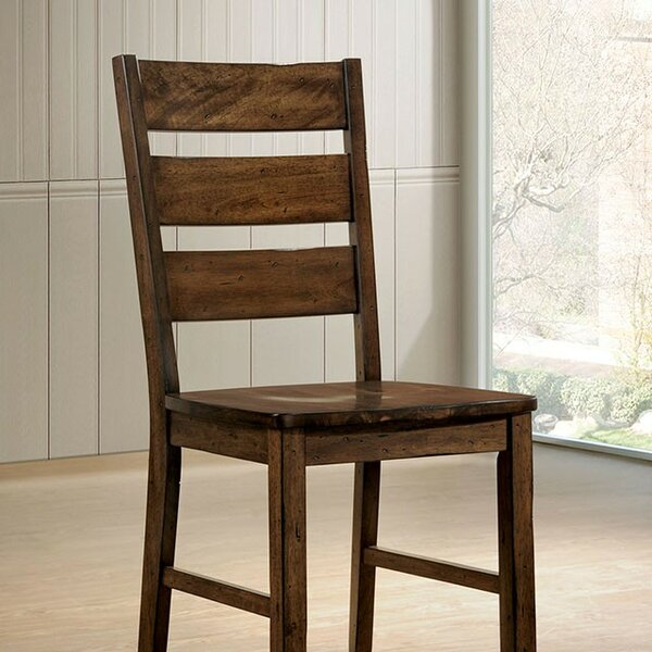 Sherwood Solid Wood Dining Chair (Set of 2) by Loon Peak
