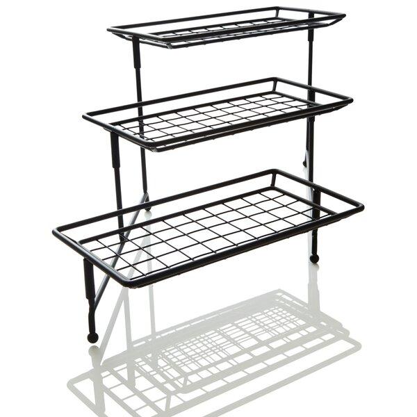 IEnjoyware 3-Tiered Metal Rack Serving Platters by ienjoyware LLC