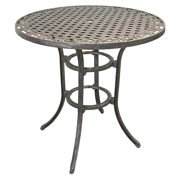 Claverton Metal Dining Table by Darby Home Co