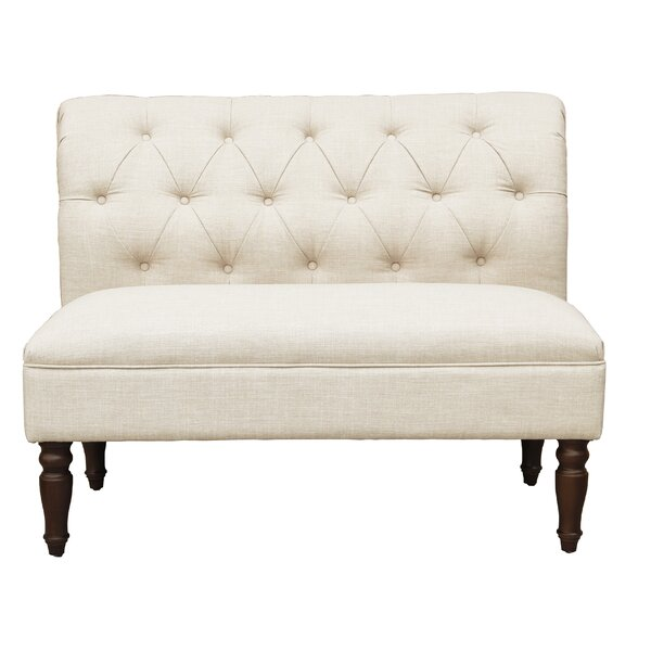Chung Tufted Rolled Back Loveseat by Charlton Home